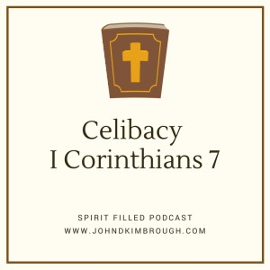 Celibacy : I Corinthians 7 – Spirit Filled Podcast Episode 62, John D Kimbrough, Spirit Filled Podcast, A Bible Study